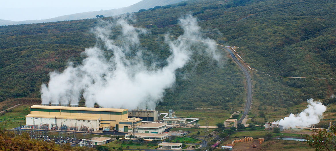 Extension of Olkaria I geothermal power plant, Kenya