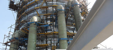 Construction of flue gas desulfurization plants for Maritza East 2 Power Plant, Bulgaria