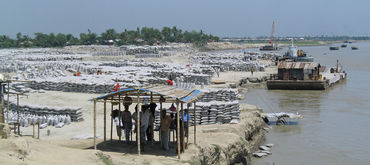 Bank protection and flood control program, Bangladesh