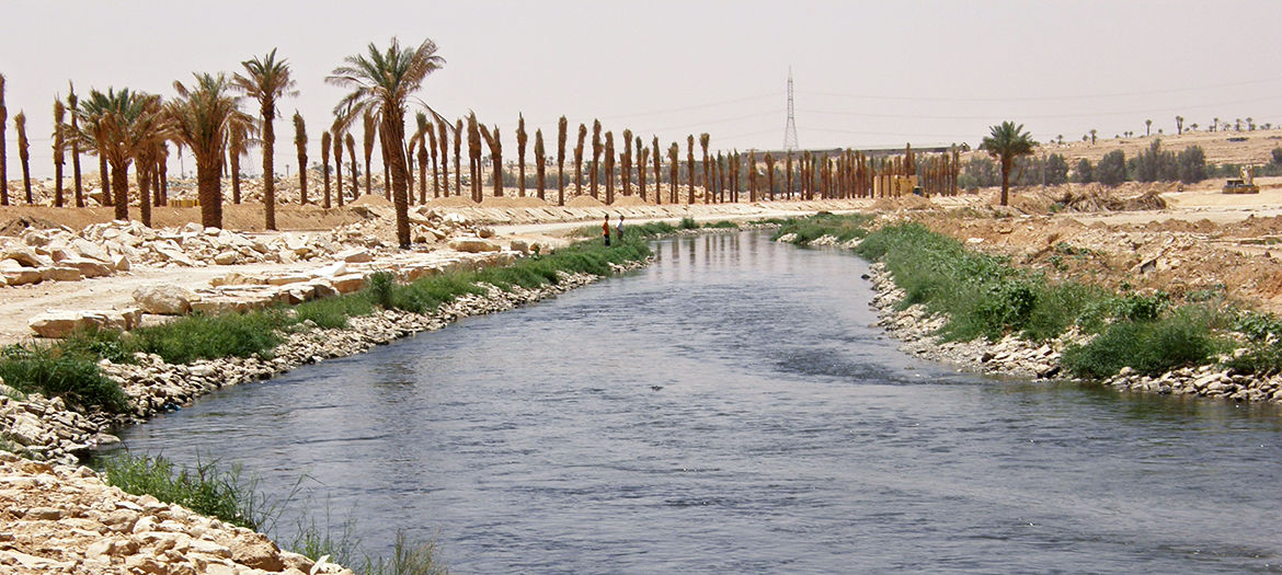 Wastewater recycling in the City of Riyadh, Saudi Arabia