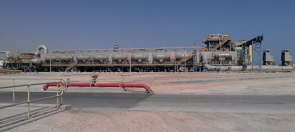 Expansion and modernization of a seawater desalination plant, Qatar