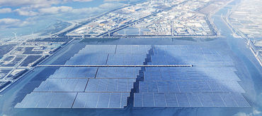 World´s largest PV offshore floating plant is completed and online