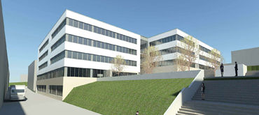 General planning for expansion of operating premises, Germany