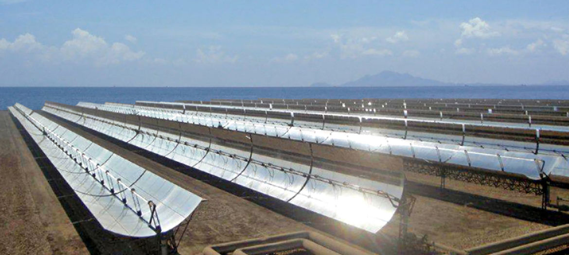 Seawater desalination plants powered by solar thermal energy, Saudi Arabia
