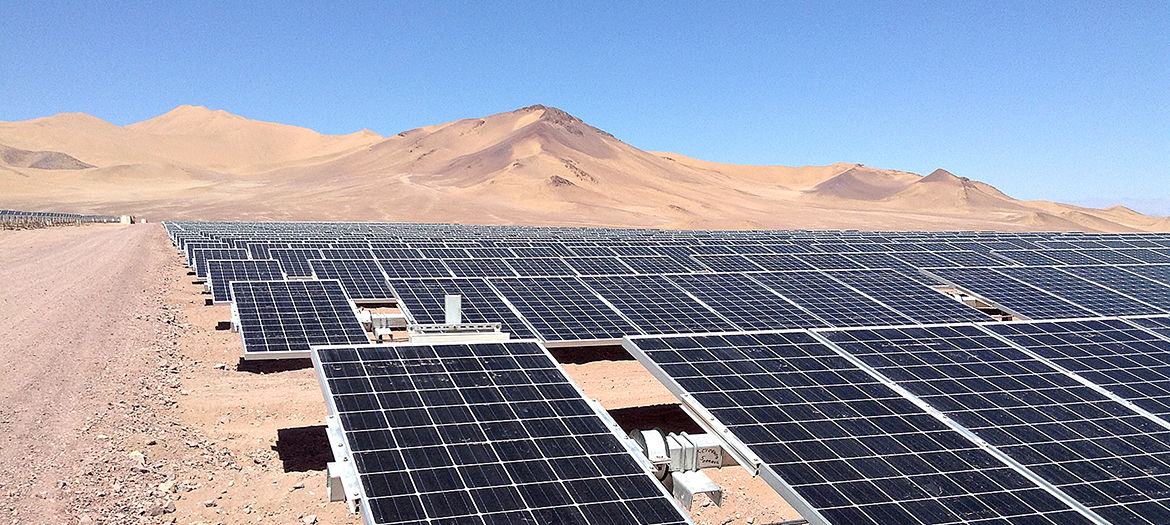 Due diligence audits, site supervision and operation monitoring for PV power plants, Chile