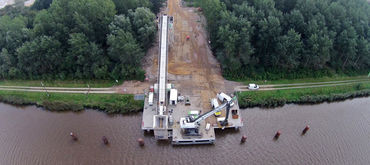 Geotechnical support for new lock construction, Germany