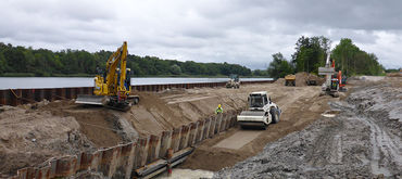 Upgrading the Kiel Canal – setting up an interim storage area, Germany