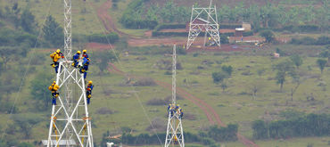 220 kV power transmission line between Uganda and Rwanda