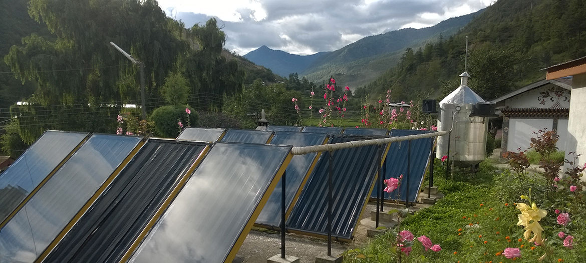 Elaboration of a renewable energies master plan, Bhutan