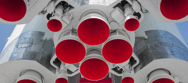 Hydrogen/oxygen supply system for research rocket engine burners, Germany